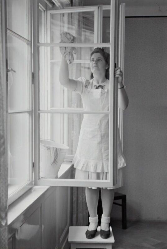 Pudsning af vinduer og vinduespudsning